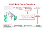 Ch3.3: Fast Fourier Transform