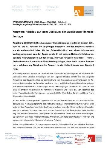 Pressemitteilung - Netzwerk Holzbau
