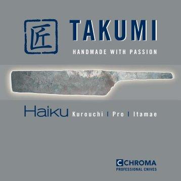 CHROMA Takumi Katalog - Kochmesser.de