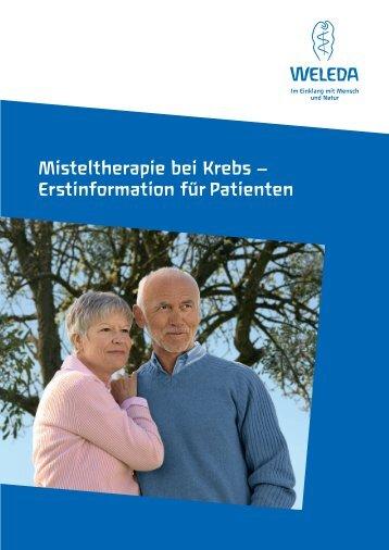 Misteltherapie bei Krebs – Erstinformation für Patienten - Weleda