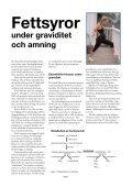 Fettsyror under graviditet och amning - Scientific Communication AB - Page 2