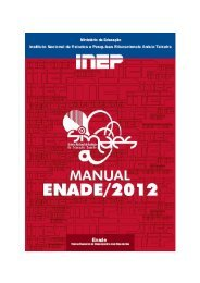 Manual do Enade 2012 - Unoeste