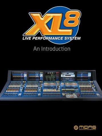 Midas- xl8-brochure.pdf - stagecraft fundamentals