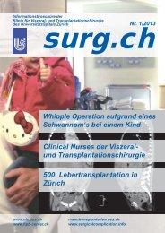 01 /2013 - Klinik für Viszeral