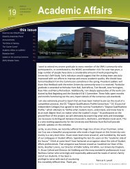 Monthly Journal of the Vice President for Academic Affairs - SNHU ...