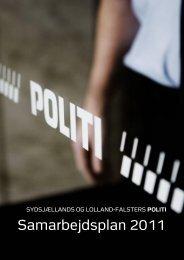 Samarbejdsplan 2011 - Politi