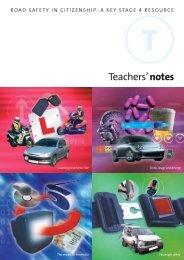 Teachers' Notes - RoSPA