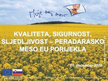 Prezentacija Sarajevo 01_12_2010 BiH.pdf - Moje naj meso!