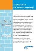 Das Armaturen-System der Hauswasserzentrale - R. Nussbaum AG - Seite 3