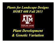 full screen color presentation - Aggie Horticulture - Texas A&M ...