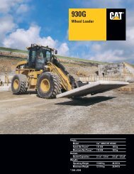 Specalog for 930G Wheel Loader, AEHQ5610-01 - Kelly Tractor