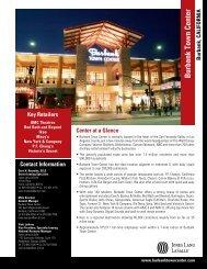 Burbank Town Center - Jones Lang LaSalle