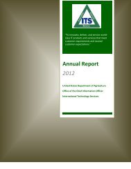 Annual Report 2012 - Office of the Chief Information Officer - US ...