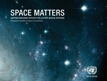 SPACE MATTERS - United Nations Office for Outer Space Affairs