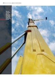 Mit einer Arbeitshöhe von 103 Metern ist die Wumag WT ... - TURCK