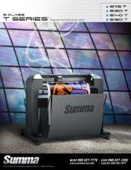 Summa T Series Brochure - LexJet