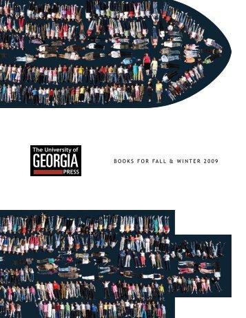 Fall 2009 - University of Georgia Press