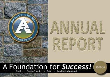 Annual Report_2009-10.pdf - Asheville City Schools
