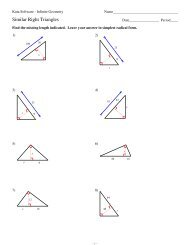 9 Solving Right Triangles Kuta Software