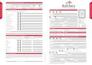 APPLIC A TION FORM PHYSICIAN REPOR T - Les Roches