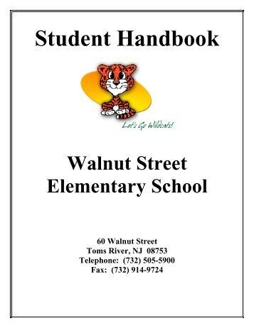 Student Handbook - Toms River Regional Schools