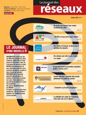 JAS 150 JOURNAL DES RESEAUX:LE BULLETIN DE LA ... - Unaf