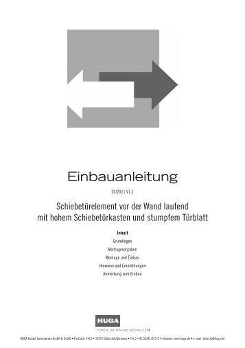 EB046_Schiebetuer_vor_der_Wand_HOHER_KASTEN - Huga