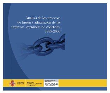 Análisis de los procesos de fusión y adquisición de las empresas ...