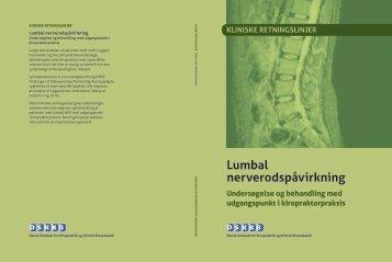 lumbal nerverodspåvirkning - dskkb