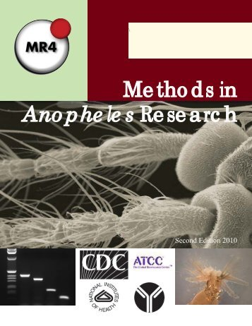 Methods in Anopheles Research - MR4