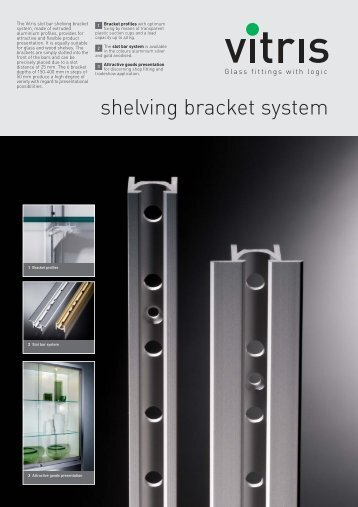 Shelving bracket system brochure - Willach