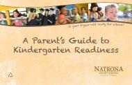 Is Your Child Ready For Kindergarten? - Natrona County Schools
