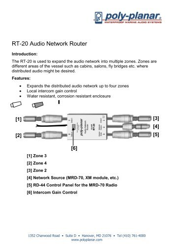 marine ecatalog 8mb poly planar rh yumpu com Speaker Wiring Diagram Karaoke VocoPro Wiring Diagrams