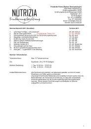 1 Friederike Fieres (Diplom-Ökotrophologin) QUETHEB ...
