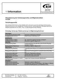 2013 - 1. Halbjahr - Bayerischer Jugendring
