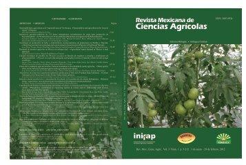 Vol.3 Núm. 1 - Instituto Nacional de Investigaciones Forestales ...