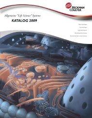 Katalog Kleingeräte 2009-2010 - Beckman Coulter