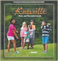 2013 Recreation Guide - City of Knoxville