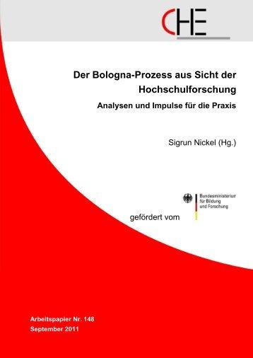 Der Bologna-Prozess aus Sicht der Hochschulforschung