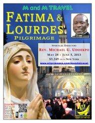 FATIMA LOURDES - 206 Tours