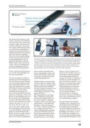 Gewässergüteüberwachung in der ... - Flußmeister