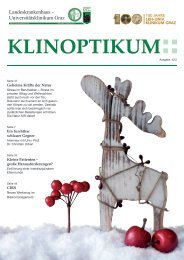 KlinoptiKum - LKH-Univ. Klinikum Graz