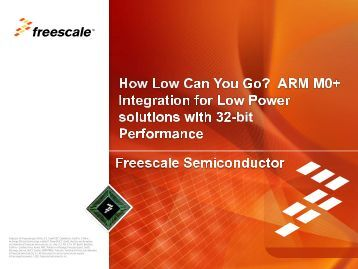 Freescale Kinetis L Introduction