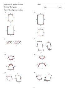 7 Similar Polygons Kuta