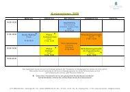 Kursprogramm 2009 - CITY MED. München Gmbh