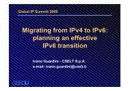 Migrating from IPv4 to IPv6: planning an effective IPv6 transi