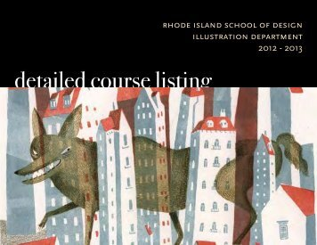 Illustration Department Advisors - Rhode Island School of Design