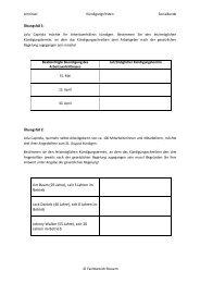 Kündigungsfristen (5. Semester) - OSZ Lotis Berlin