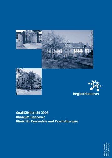 Qualitätsbericht 2003 Psych - Krankenhaus.de