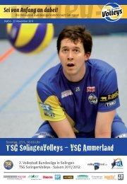 TSG SolingenVolleys – VSG Ammerland
